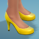 BananaYellowPumps