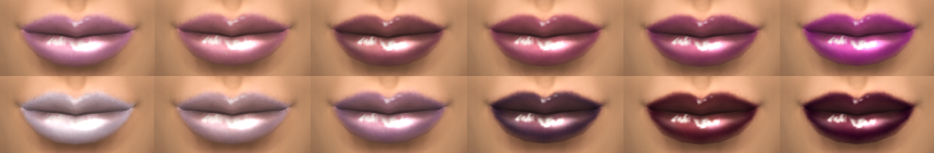 lip color banner