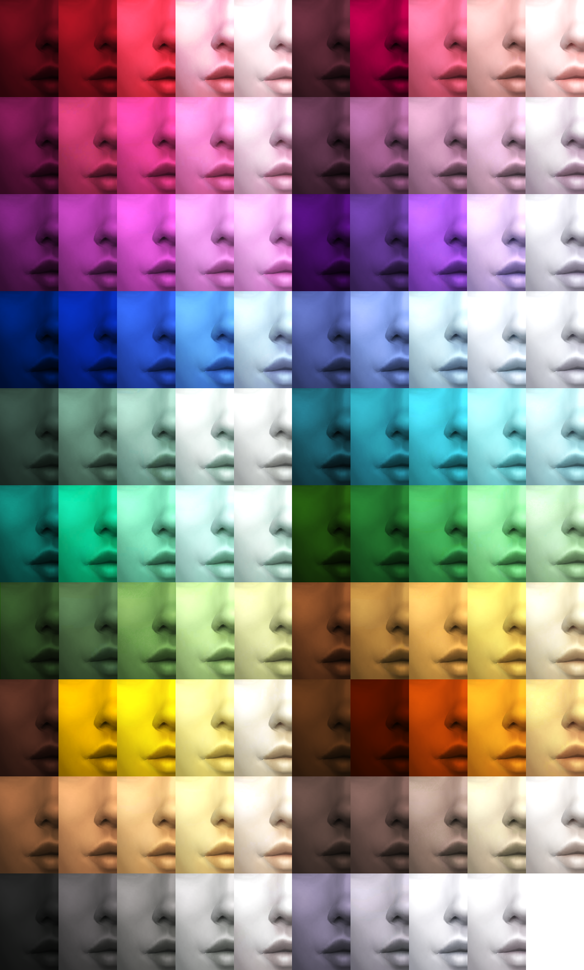 Fixed 99 Fully Functioning Custom Skin Colors The
